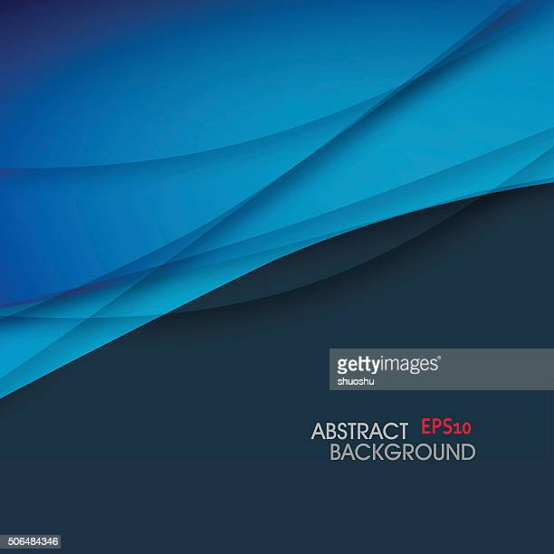 abstract curve gradient pattern background