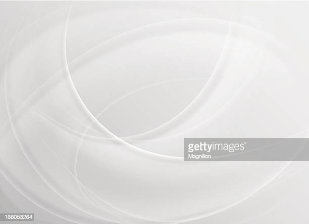Abstract curved white background