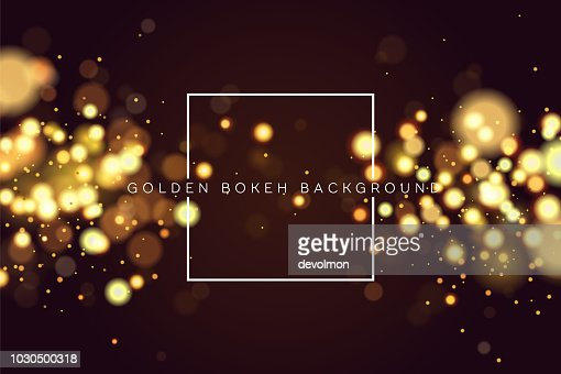 Abstract defocused circular golden bokeh sparkle glitter lights background. Magic christmas background. Elegant, shiny, metallic gold background. EPS 10. : stock vector