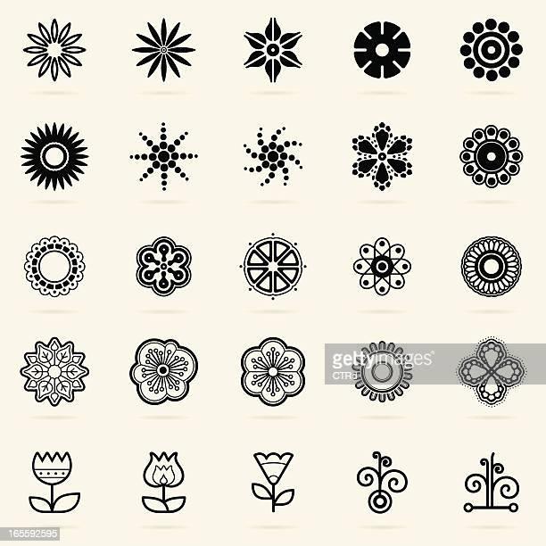 Abstrakt Design-Elemente