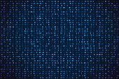 Abstract digital background. Machine code. Hexadecimal code. Random digits and letters colored illustration.