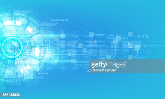 abstract digital hi tech technology innovation concept vector background : Vector Art