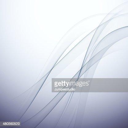 abstract elegant wave background, vector illustration : Vector Art