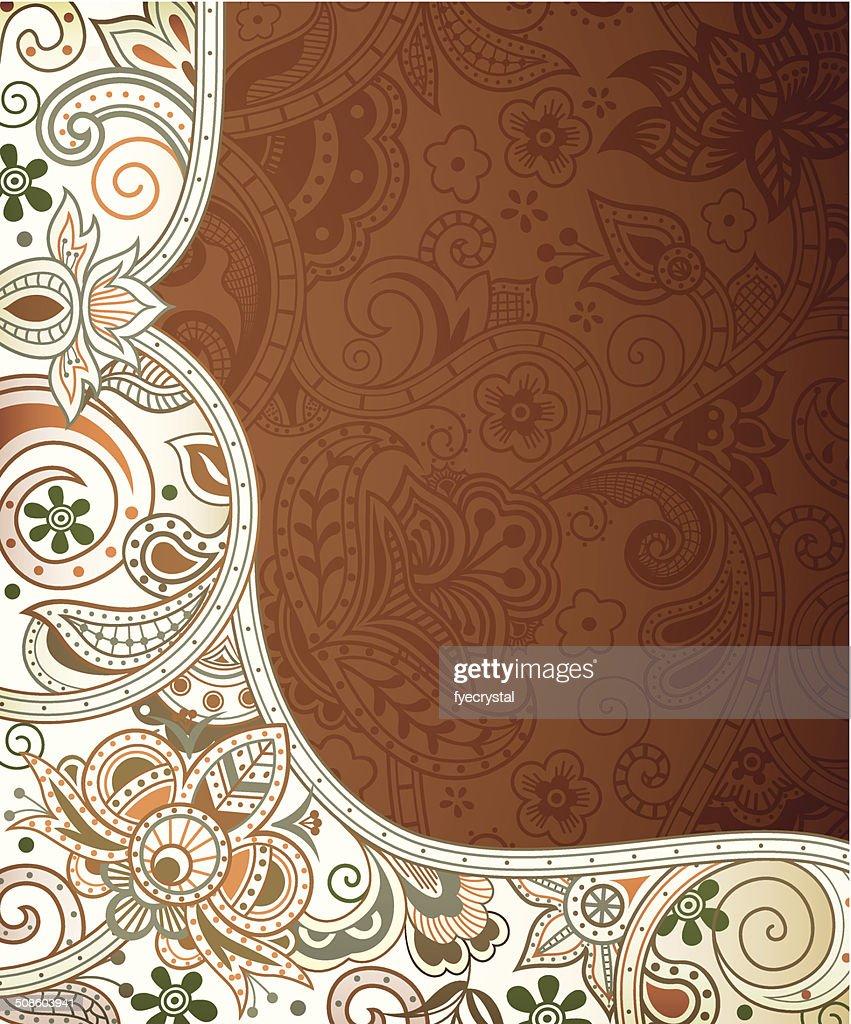 Fondo abstracto Floral : Arte vectorial