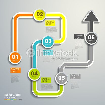 Abstract flow chart infographics vector art thinkstock abstract flow chart infographics vector art ccuart Images