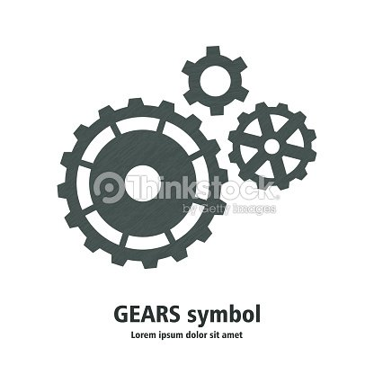 abstract gears template for your business vector art thinkstock