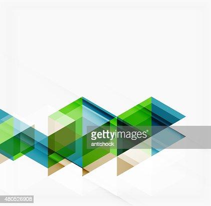 Abstrakte Geometrische Hintergrund.  Überlappende Dreiecke moderne : Vektorgrafik
