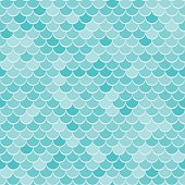 Marine background. Sea wavy or scale. Abstract vector illustration.  Seamless waves blue pattern or squama texture.