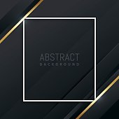 Luxury and elegant abstract geometric background