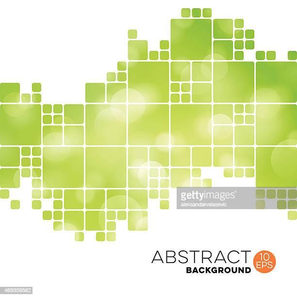 Fond abstrait géométrique Sans mis'au point