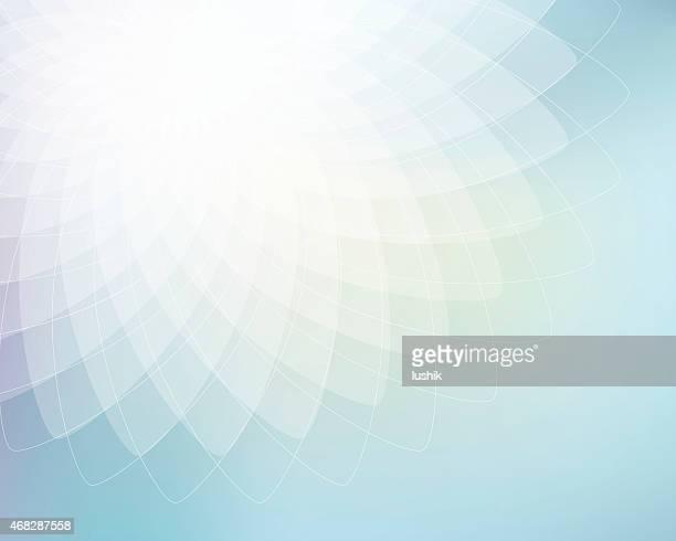 Abstrakte Geometrische ellipses Hintergrund