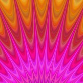Abstract geometric flames from hell - fractal background
