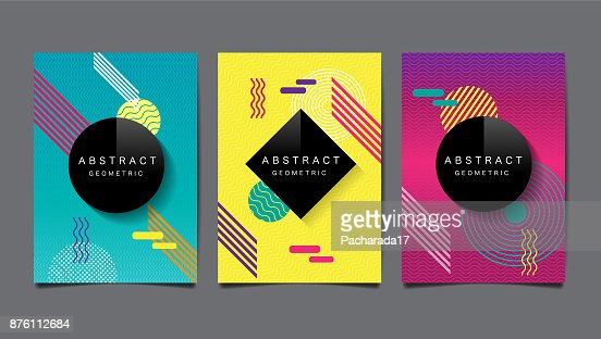 Abstract geometric , layout design template, vector pattern and background : stock vector