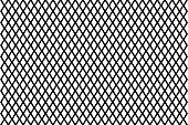 Mesh - abstract black and white pattern - vector, Abstract geometric pattern with lines, Vector illustration of fence,