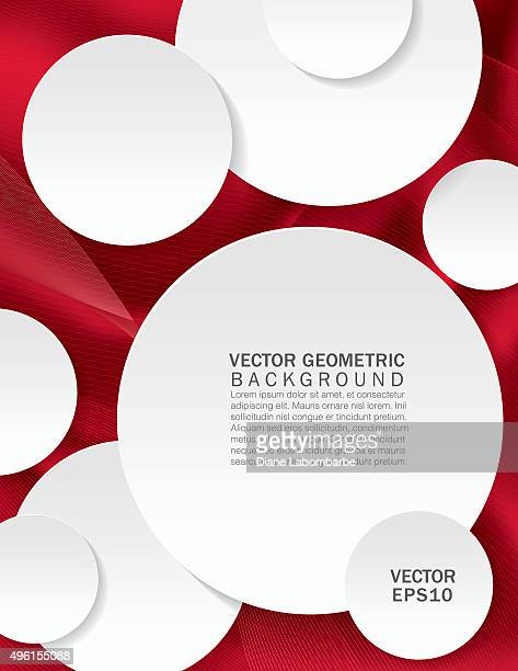 Abstract Geometric Report Cover Or Background Template