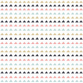 Geometric seamless pattern in scandinavian style. Abstract background.