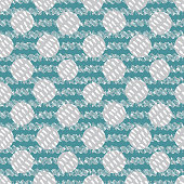 Abstract blue and grey graphic circles and waves seamless pattern representing the water element. Vector background. Great for kids, paper, fabric, wallpaper and more.