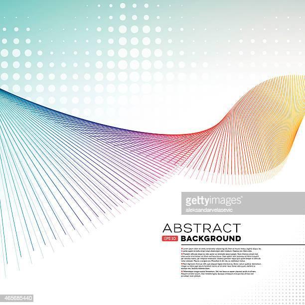 Abstract Graphic fondo de onda