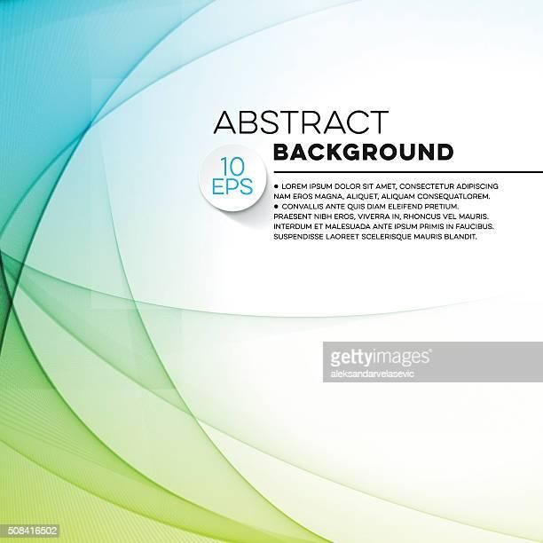 Abstract Wave Hintergrund mit