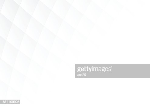 Abstract gray gradient square shapes on white background with soft light and copy space. Vector illustration : Arte vetorial