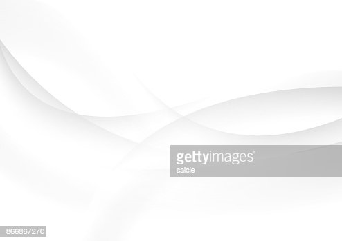 Abstract grey and white waves vector background : stock vector