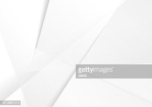 Abstract grey hi-tech polygonal corporate background : Vector Art