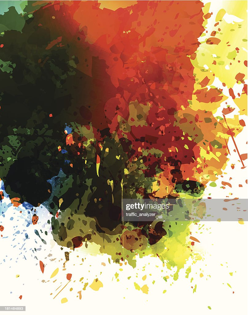 Abstract grunge background : Vector Art