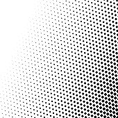 Abstract halftone, minimalistic background from dots. Comic style backdrop, gradient halftone pop-art retro style. Template for ad, covers, posters, advertising actions.