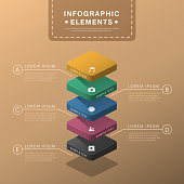 vector abstract layer chart flat design infographic elements