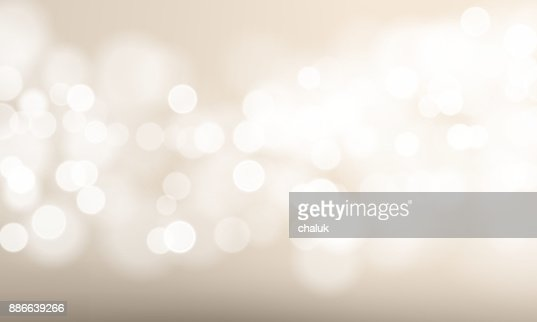 Abstract light blur and bokeh effect background. Vector defocused sun shine or sparkling lights and glittering glow for festival or white celebration background template : Vector Art