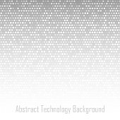Abstract Light Gray Technology Background, vector illustration