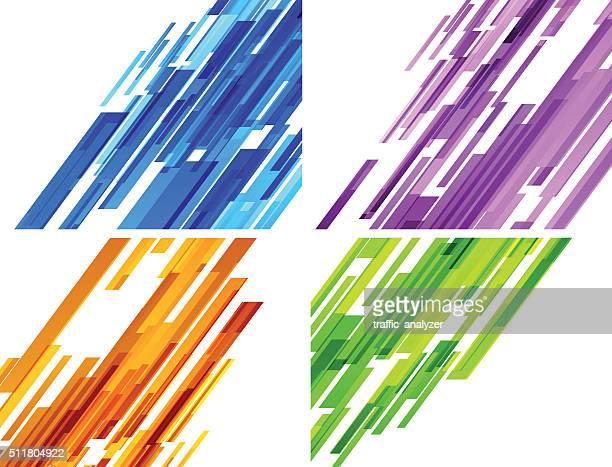 Fond abstrait lignes