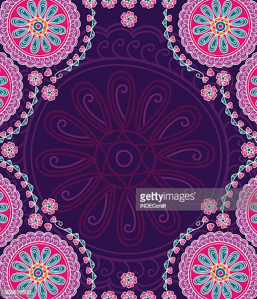 Abstrakte Mandala-Design