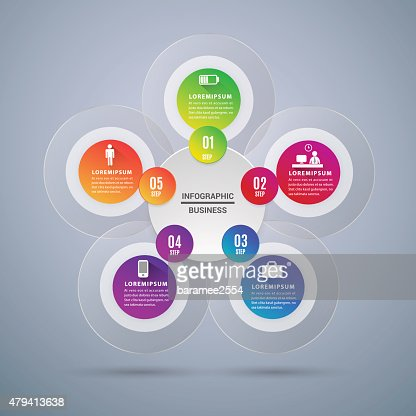 Abstract Modern digital template vector  banner infographics. : stock vector