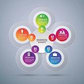 Arrow  Modern digital template vector  banner infographics.