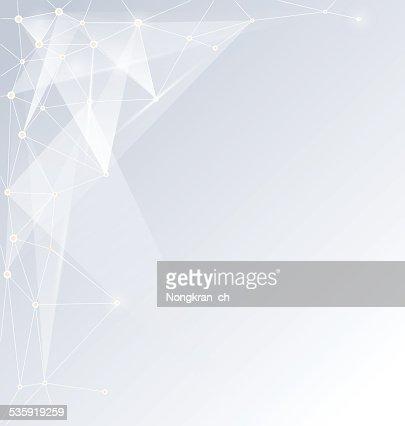 Abstract Molecules technology futuristic design : Vector Art