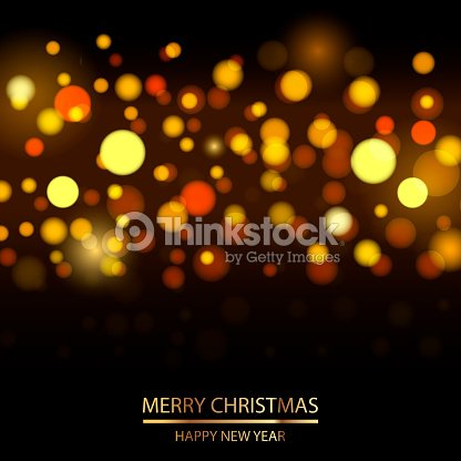 abstract new year background with defocused lights vector vector art
