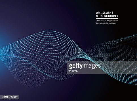 Abstract particle background : Arte vettoriale