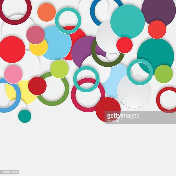 3 D abstrakt Muster Hintergrund