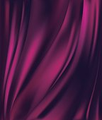 abstract pink purple background luxury cloth or liquid wave or wavy folds of grunge silk texture satin velvet material for luxurious elegant wallpaper design