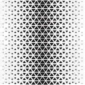 Abstract polygon black and white graphic  triangle pattern