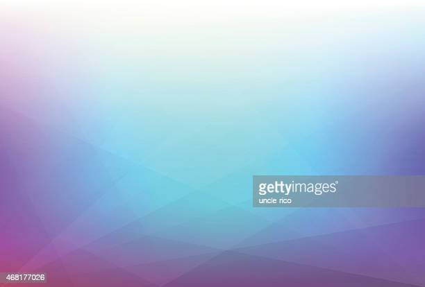 Abstract polygonal gradient pattern