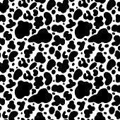 Abstract print animal monochrome seamless pattern - vector artwork