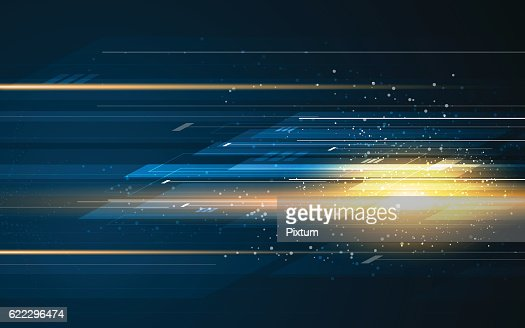 abstract rectangle pattern tech speed movement pattern design background concept : clipart vectoriel