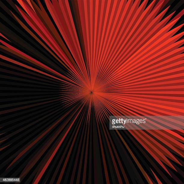 abstract red technology shape background