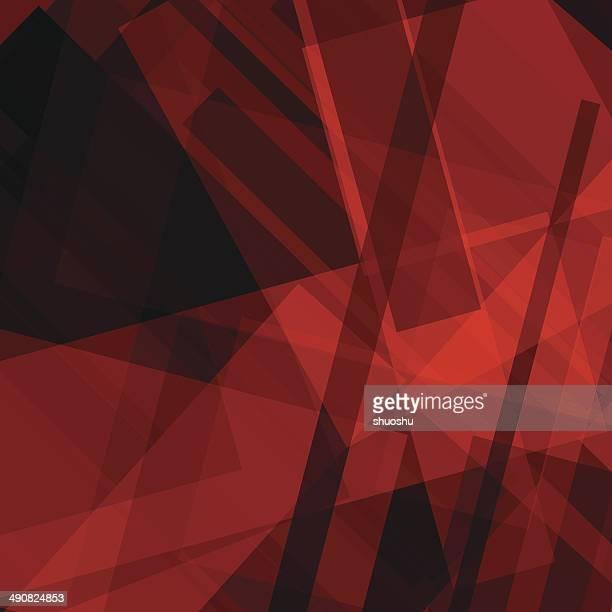 Abstrakt Rot Transparenz Streifen Muster Hintergrund