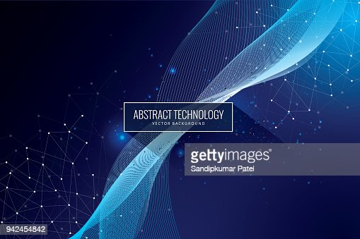Abstract science tech design innovation communication concept background : stock vector