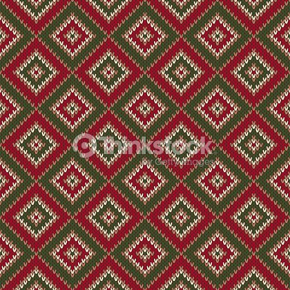 7706a64ab457 Abstract Seamless Knitting Pattern Christmas Sweater Design Wool ...