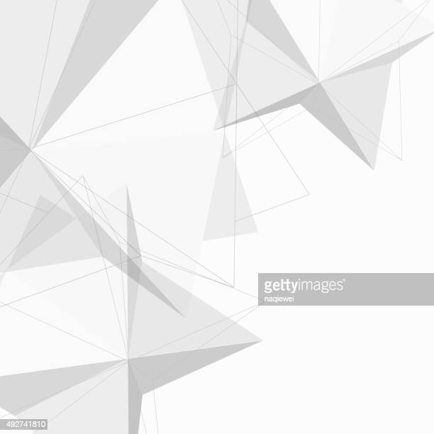abstract sketch cube pattern background for design