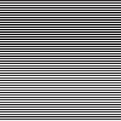 Seamless abstract geometrical striped black and white pattern. Black horizontal thin lines. Vector illustration.